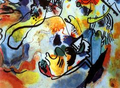 """There will be signs in the sun, moon and stars..."" Luke 21: 25-28  See the Angel with his trumpet in 'The Last Judgment' by Wassily Kandinsky (1912) http://www.loyolapress.com/first-week-of-advent-cycle-c-video.htm?utm_source=AVCC&utm_medium=email&utm_campaign=Advent2015"