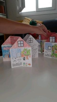 Folding House, Peace At Last, Learning Goals, Student, Activities, Simple, Crafts, Home, Learning Targets