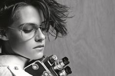 Kristen Stewart is the face for Chanel Spring-Summer 2015 eyeware. (Courtesy of Karl Lagerfeld/Chanel) Chanel News, Chanel Fashion, Chanel 2015, Karl Lagerfeld, Spring 2015 Fashion, Spring Summer 2015, Kristen Stewart Chanel, Sils Maria, American Actors