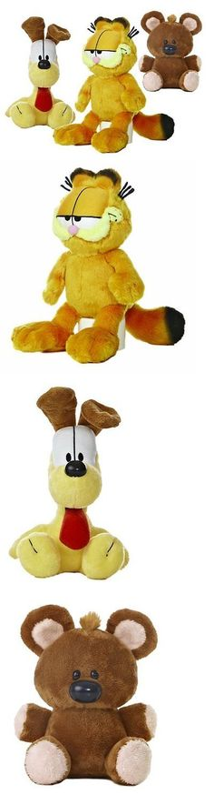 Garfield 1195: Garfield The Cat Plush Set: Garfield, Odie, Pooky By Aurora World 7 -11 -> BUY IT NOW ONLY: $31.31 on eBay!