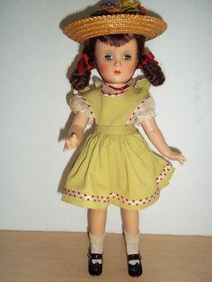 "Vintage 14"" Tagged Composition Margaret O'Brien Doll - All Original - Alexander  #Dolls"