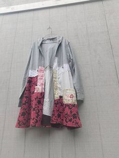 This one-of-a-kind Jacket is the perfect piece for fall / winter or a cool summer night! This upcycled jacket is very soft and comfy! Made from cotton and knit and pieced together in a funky kind of way that is very flattering to the body :) no worries about anyone walking around with the same jacket... this one of a kind piece will be a go to in your closet... my newest line - open Art Jackets - i love nothing more than wearing jackets over jeans and a t-shirt... these were created with...