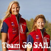 Amanda Clark and Sarah Lihan are going for American Women's 470 glory