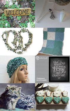 August Finds ... Green #promotingwomen