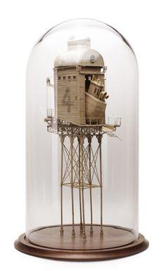 Amazing Cardboard Engineering by Artist Daniel Agdag