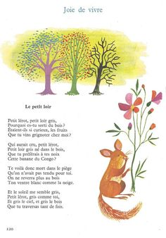 Joie de vivre (poèmes inédits de M. Carême) - Lire et parler CE1 n°16 - Littérature au primaire Read In French, French Class, Learn French, French Language Lessons, French Lessons, French Poems, French Resources, Good Advice, Education