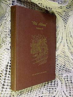 Book Old Albany (NY) Volume 4 by Morris Gerber First Printing 1979