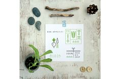 ECO cards. 12 templates by Lera Efremova on Creative Market