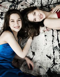 Christina and Michelle Naughton: One stage, two pianos and a beautiful night