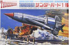 Plastic Model Kits, Plastic Models, Thunderbird 1, Thunderbirds Are Go, Sci Fi Films, Thing 1, Childhood Days, Tamiya, Easy Paintings