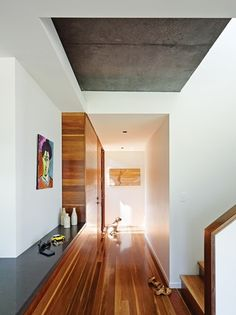 Queenslander House Upgraded to Accommodate a Growing Family Wide Plank Flooring, Engineered Hardwood Flooring, Spotted Gum Flooring, Queenslander House, Installing Hardwood Floors, Real Wood Floors, Home Upgrades, Floor Design, Interior Architecture