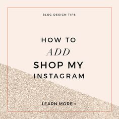 How to Add Shop My I