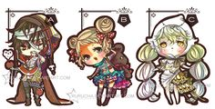 A-Z Adoptable ::CLOSED:: by Rurucha.deviantart.com on @DeviantArt