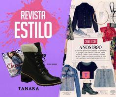 Coturno Tanara na @revistaestilo     #clipping #tanaranamídia #tanaranaEstilo