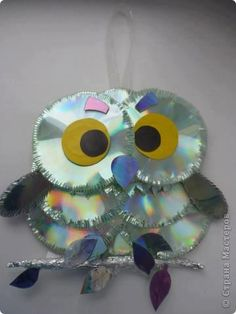 1000 images about animales reciclables on pinterest pinecone owls manualidades and animales - Top uses for old cds and dvds unbounded ideas ...