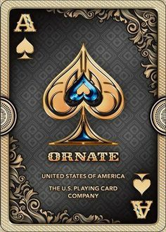 Cool Playing Cards, Custom Playing Cards, Bicycle Playing Cards, Cool Cards, Ace Of Spades Tattoo, Ace Card, Play Your Cards Right, Card Tattoo, Cartomancy