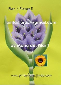 App, Youtube, Flowers, Plants, Painted Flowers, Paint Flowers, Learn To Paint, Pintura, Florals