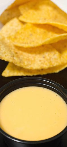 Make Taco Tuesday at home extra special with this copycat Taco Bell Nacho Cheese. Perfect for dipping tortilla chips in or making extra cheesy tacos and quesadillas. Taco Bell Recipes, Mexican Food Recipes, Dinner Recipes, Mexican Dishes, Restaurant Recipes, Dinner Ideas, Cheese Recipes, Cooking Recipes, Cheese Food