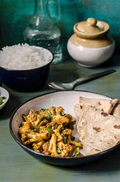 Achari Gobhi & Brussels Sprouts (Cauliflower cooked with Pickling Spices)