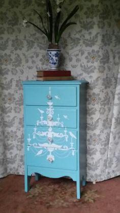 Small dresser redo....by Elegant Interiors