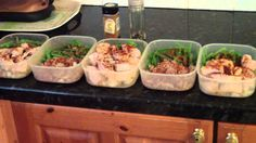 """If you're not preparing your food in advance, you're preparing yourself to fail."" Preping Healthy Lunches for the Week , via YouTube."