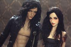Great Iplehouse Arvid and Carina customization. Dolls belong to Kyra/devolvedarling