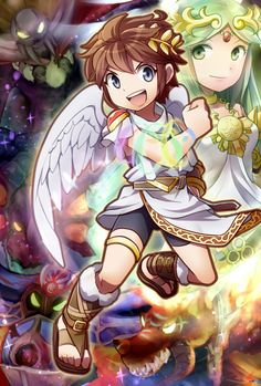 135 Best Kid Icarus Images On Pinterest