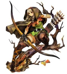 The Elf from Dragon's Crown