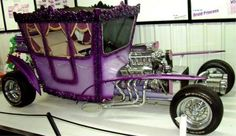 If the Queen drove a hot rod....