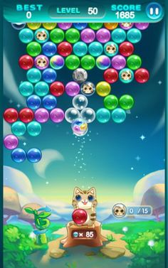 Bubble Cat Rescue for Android