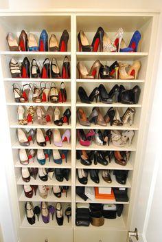 Querido, mudei a casa!: armários fantásticos para dezenas de sapatos surpreendentes.