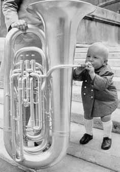 Little Tuba Player, pic for your office