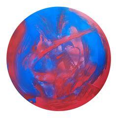 Peinture abstraite Ronde Paint