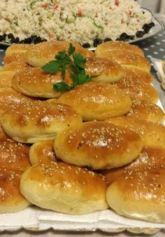 Veg Puff Recipe, Tapas, Brunch, Sandwiches, Egyptian Food, Snack Recipes, Cooking Recipes, Good Food, Yummy Food