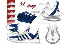 adidas SL Loop blueprint. Looks a little sleeker than the finished product.