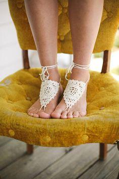 "lace ""shoes"" for the bohemian bride   Andrew Allen Morton #wedding"