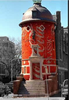 Coke Building - Worth1000 Contests