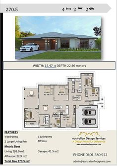 Rustic Italian Home Open Floor House Plans, Porch House Plans, 4 Bedroom House Plans, Home Design Floor Plans, House Plans One Story, Family House Plans, Craftsman House Plans, Dream House Plans, Modern House Plans