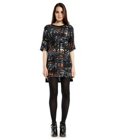 MICHAELSTARS.COM: Michael Stars Printed Crepe Shift Dress for $138.0 :: Faearch