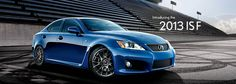 Lexus IS F | Luxury Sport Sedan | 2013 Lexus IS F
