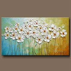 Discover thousands of images about Beautiful Oil Paintings For Rooms In Contemporary Designs . - Gabriela - - Beautiful Oil Paintings For Rooms In Contemporary Designs . Acrylic Painting Flowers, Abstract Flowers, Painting Abstract, Acrylic Artwork, Hand Painting Art, Canvas Paintings For Sale, Canvas Art, Flower Paintings On Canvas, Palette Knife Painting