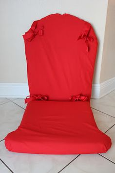 Do It Myself Mommy: DIY Rocking Chair Recover