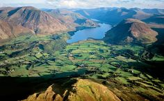 With scenery as stunning as this is, it's easy to see why the Romantic literary movement was born in the Lake District of England.