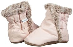 Robeez Soft Soles Classic Bootie.  Hayley got a pair of these from her great-aunt! so cute :)