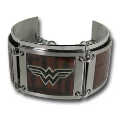 Wonder Woman Dark Wood Segment Bracelet