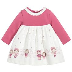 Explore our Mayoral collection for boys, girls and babies including dresses, tops, coats and more. Shop Mayoral baby and kids clothing plus accessories. Baby Girl Pink Dress, Pink Girl, Toddler Dress, Toddler Girl, Baby Girl Fashion, Kids Fashion, Girls Clothing Stores, Girl Clothing, Baby Girl Newborn