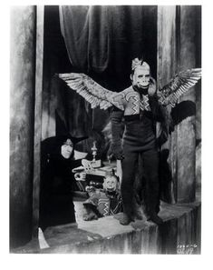 flying monkeys... I actually had a monkey jump down from our porch roof onto my feet when I was about 3 years old... I swore they were the flying monkeys I just saw on THe Wizard of Oz and freaaaakedd out!