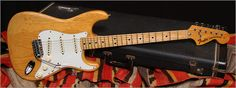 """1973 Fender Stratocaster """"Natural"""" """"Vintage Electric and Acoustic Guitars, Gibson, Fender, Gretsch, Martin, In Ithaca and Albuquerque"""