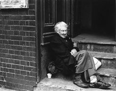 Moyra Peralta in Spitalfields.  Old Mary, seventies.