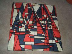 Nautical vintage scarf